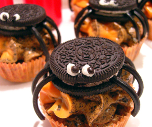 Halloween, oreo, and cupcake image