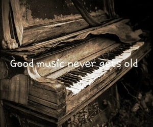 music, piano, and quotes image