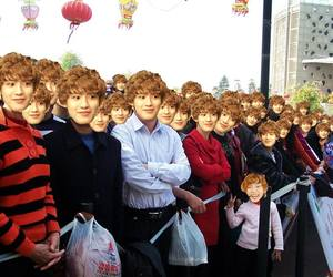 exo, funny, and korean image