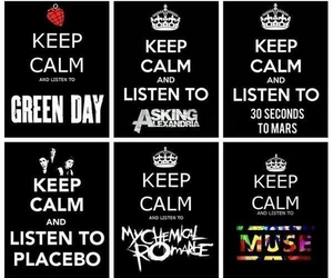 muse, green day, and Placebo image