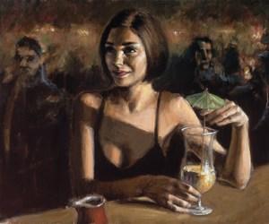 art, woman, and fabian perez image
