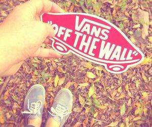 autumn, shoes, and vans image