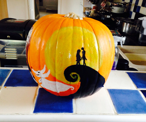 Halloween, hill, and jack and sally image