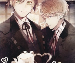 diabolik lovers, ayato sakamaki, and anime image