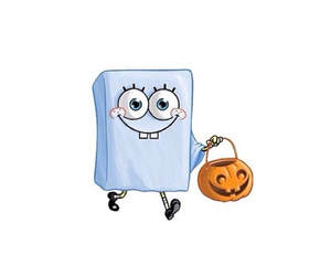 ghost, smile, and spongebob image