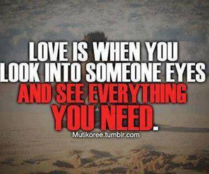 love, everything, and text image