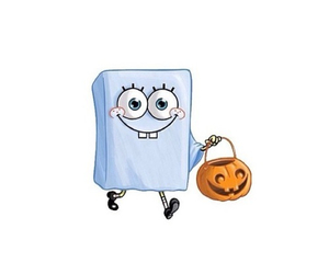Halloween, spongebob, and pumpkin image