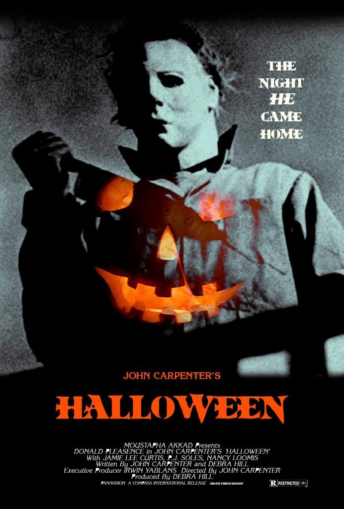 Halloween, horror, and pumpkin image