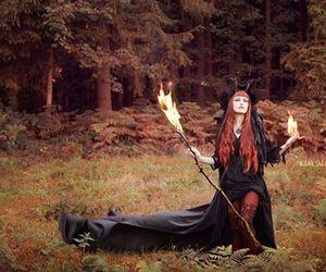 fantasy, alternative, and fire image