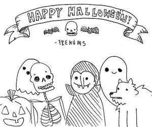 Halloween and cute image