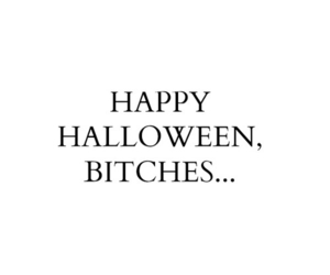 Halloween, happy, and bitch image