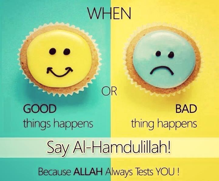 Muslim Quotes On Love Enchanting Say Alhamdulillah ツ  Via Facebook On We Heart It