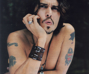 charm, johnny depp, and Tattoos image