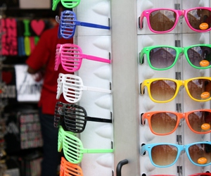 colorful, kanye west, and sunglasses image