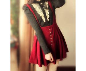 cute, dress, and kawaii image