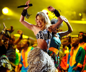 belly dance, shakira, and world cup image