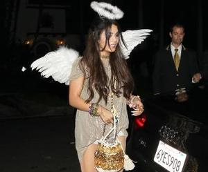 angel, costum, and Halloween image