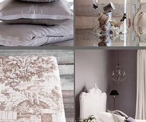 bed, butterflies, and chandelier image