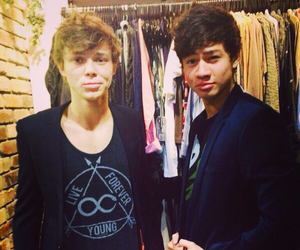 calum, ashton, and sexy image