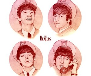 the beatles and amazing image