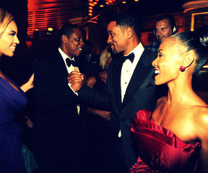 beyoncé, will smith, and jay-z image