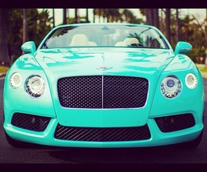 car, Bentley, and blue image