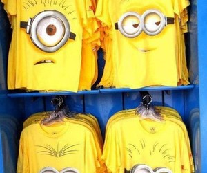 minions, shirt, and t-shirt image
