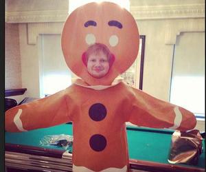 ginger, Halloween, and ed sheeran image