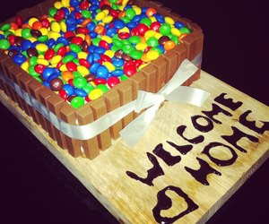 food art, yummy, and candy cake image