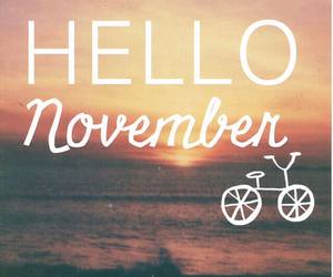 hello, mes, and november image
