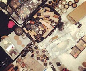 make up, mac, and chanel image