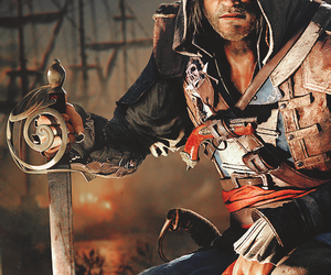 <3, Assassins Creed, and pirate image