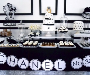 chanel and party image