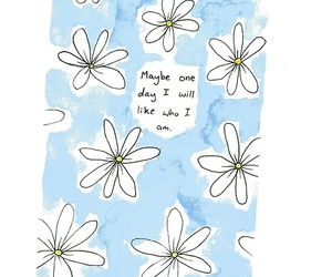 quote, flowers, and like image