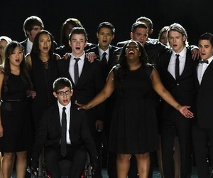 glee, cory monteith, and the quarterback image
