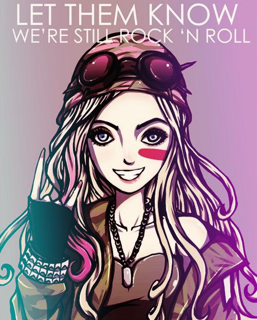 Avril Lavigne Via Facebook On We Heart It