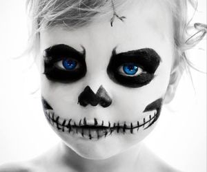 baby, beautiful, and Halloween image
