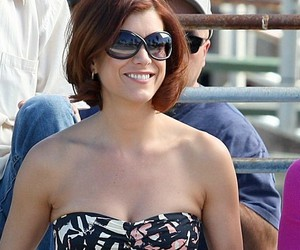sunglasses, top, and kate walsh image