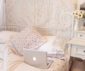 apple, ikea, and bed image