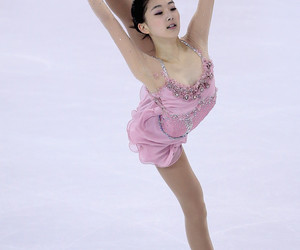 dress, ice, and pink image
