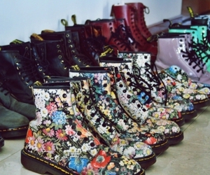 boots, dr martens, and photography image