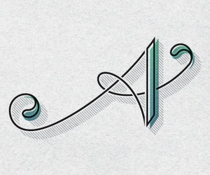 blue, Letter, and calligraphy image