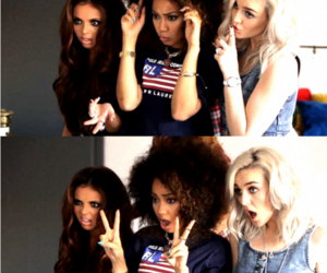 girl, jesy nelson, and perrie edwards image