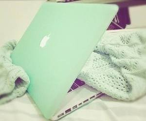 apple, mint, and sweater image