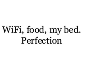 food, perfection, and quote image