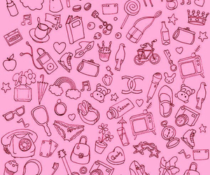pink and girly image