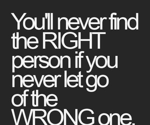 find, let go, and Right image