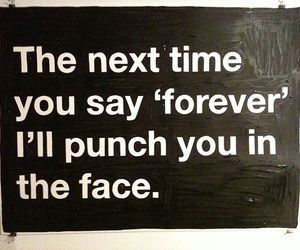forever, punch, and face image