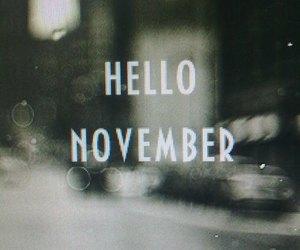 november and love image