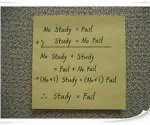 post it, proof, and study image